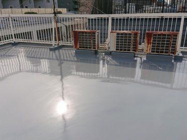 大和市 Sビル 外装リフォーム 屋上ウレタン防水工事