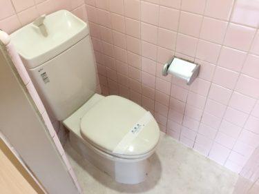 大和市 U アパ―ト 内装リフォーム トイレ