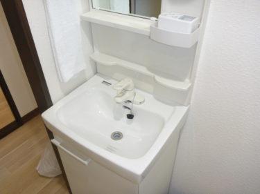 大和市 Nアパート 内装リフォーム 洗面台交換