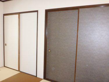 大和市 Nアパート 内装リフォーム 今風な和室へ