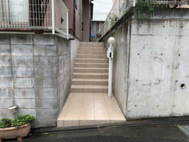 大和市 I様邸 外装リフォーム エクステリア階段