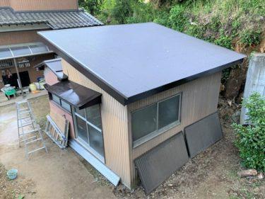 大和市 H様邸 外装リフォーム トタン屋根葺き替え工事