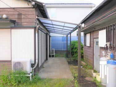 大和市 K様邸 外装リフォーム テラス屋根工事