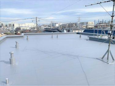 大和市 Aマンション 塩ビシート 屋上防水工事