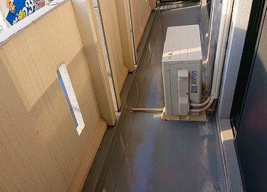 神奈川県大和市 Gマンション ベランダ ウレタン防水工事