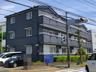神奈川県大和市 Kアパート様 外装リフォーム、屋根塗装、外壁塗装、付帯品塗装、ベランダ防水工事
