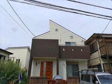 神奈川県座間市 H様邸 外装リフォーム、外壁塗装、屋根塗装、ベランダ防水工事