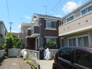 神奈川県大和市 O様邸 外装リフォーム、外壁塗装、屋根塗装、ベランダ防水工事