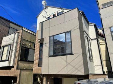 東京都世田谷区 T様邸 外装リフォーム、外壁塗装、屋根塗装、他付帯品塗装、ベランダ防水工事